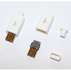 4 in 1 DIY Micro USB white