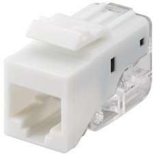 Keystone RJ45 module CAT 5e UTP 100 MHz - for IDC connectors (toolless) SNAP-IN