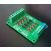 24V to 5V 4 Channel Optocoupler Isolation Board Isolated Module PLC Signal Level Voltage Converter Board 4 Bit