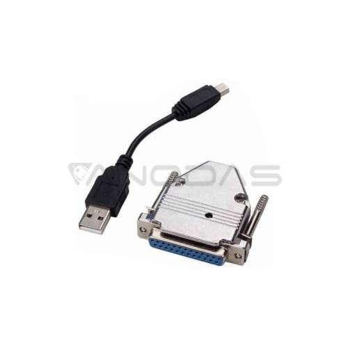 LPT konverteris - USB MACH3 CNC 4 ašių + programinė įranga