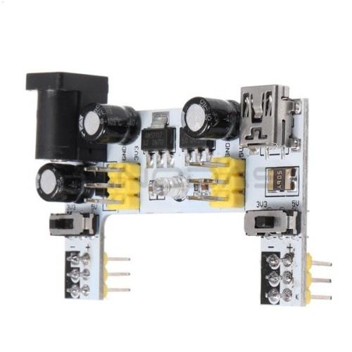Maitinimo priedas maketavimo plokštėms XD-42 - 3.3V 5V