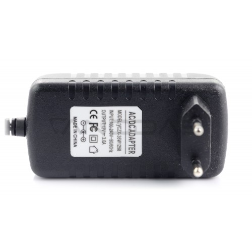 Power supply 12V/3A - DC 5.5/2.5mm