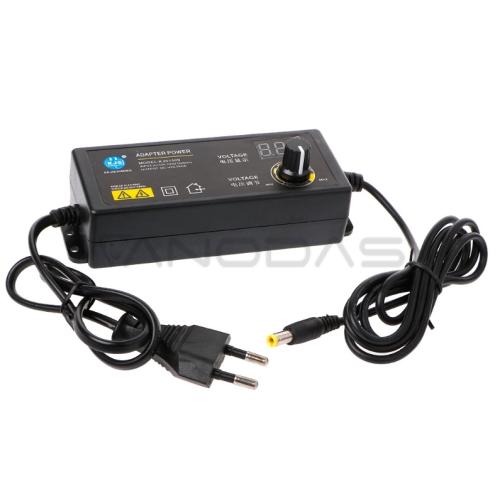 Maitinimo šaltinis reguliuojamas 3-24V 60W 5A su voltmetru