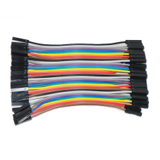 F-F wires 10cm (40pcs.)