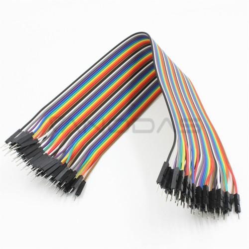 M-M wires 40cm (40pcs.)