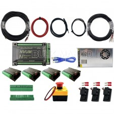 Novusun V2 MACH3 USB 4-Axis Motion Controller Bundle kit