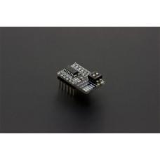 MCP3424 - ADC 18-bitų 4-kanalų I2C Keitiklis