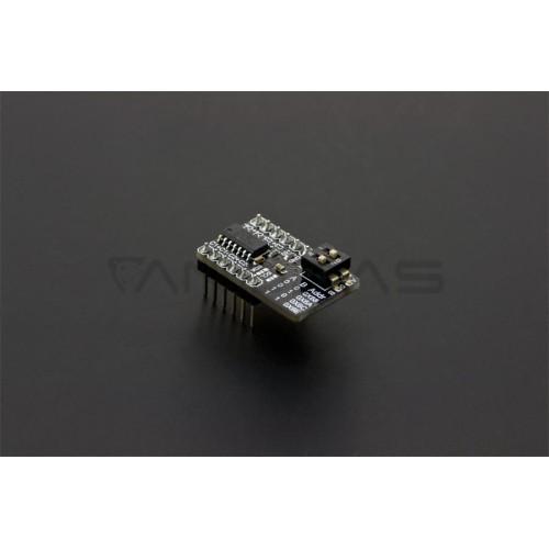 MCP3424 - ADC 18-bit 4-channel I2C Converter