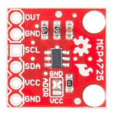 MCP4725 DAC keitiklis I2C - SparkFun