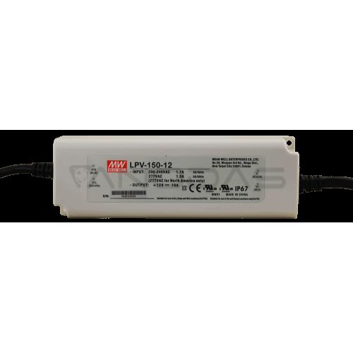 MEAN WELL Maitinimo Šaltinis 120W 12VDC 10A 180÷305VAC