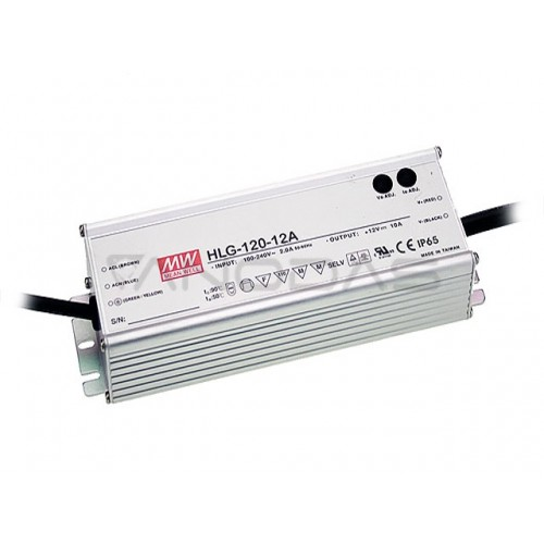 MEAN WELL Maitinimo Šaltinis 120W 24VDC 5A 90÷305VAC IP67