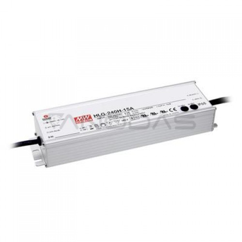MEAN WELL Maitinimo Šaltinis 240W 24VDC 10A 90÷305VAC IP67