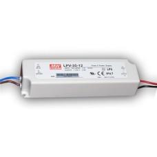 MEAN WELL Maitinimo Šaltinis 36W 12VDC 3A 90÷264VAC IP67