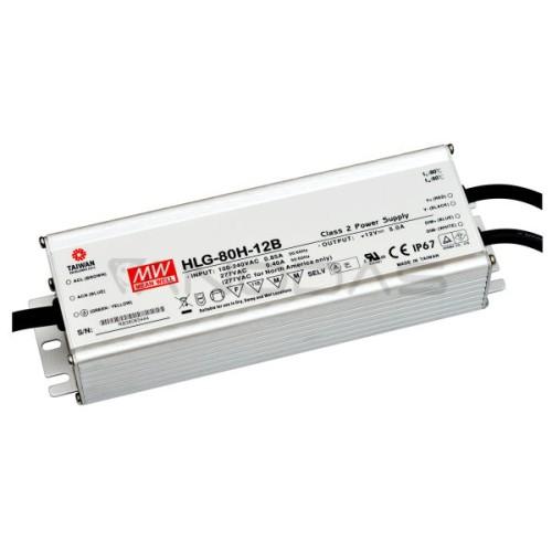 MEAN WELL Maitinimo Šaltinis 81.6W 24VDC 3.4A 90÷305VAC