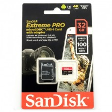 32GB 100MB/s Memory card SanDisk Extreme Pro 667x