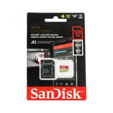 128GB 160Mb/s microSDXC atminties kortelė SanDisk Extreme Pro A2