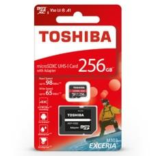 256GB 98Mb/s microSD atminties kortelė Toshiba Exceria M303
