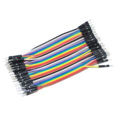 M-M wires 10cm (40pcs.)