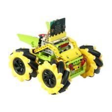 """Micro:bit roboto važiuoklė """"Wonder Rugged Car"""" (Yellow)"""