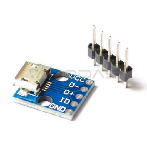 MicroUSB - GPIO plokštė CJMCU
