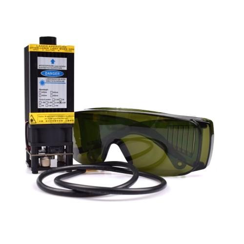 Mini CNC lazeris 2.5W + apsauginiai akiniai