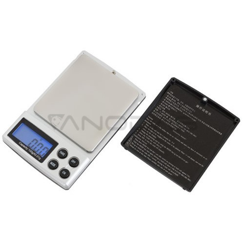 Pocket electronic scales 100g - 0.01g accuracy