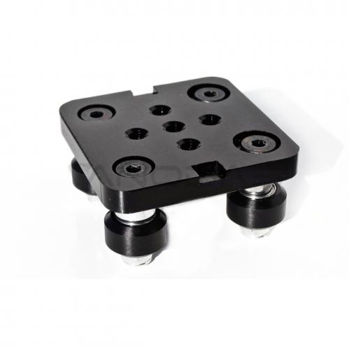 Mini V-Slot karietėlės rinkinys montuojamas ant aliuminio profilio