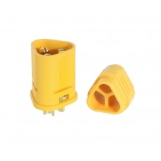 Plug; DC supply MT30 male PIN:3 for cable soldered 30A 500V