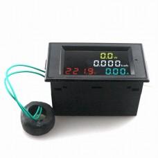 Multifunkcinis Volt/ampermetras 80-300V 0.01-100A