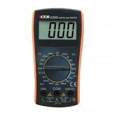 VICTOR VC830L Handheld 3 1/2 Digital Multimeter 600V AC DC Ohm VOLT Meter