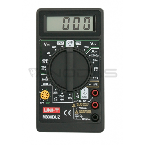 Multimeter UNI-T M830 BUZ