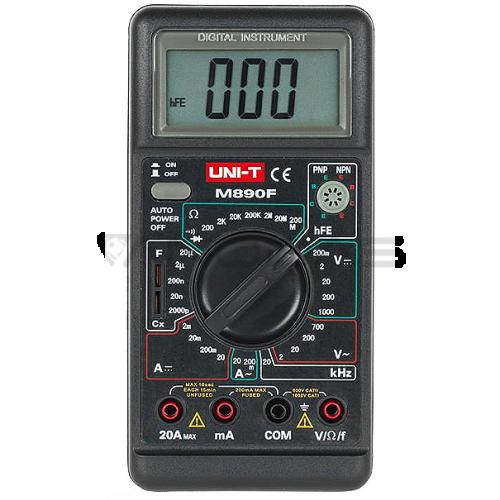 Multimetras UNI-T M890F
