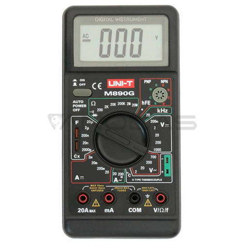 Multimetras UNI-T M890G