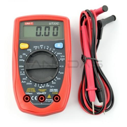 Universal multimeter UNI-T UT33C