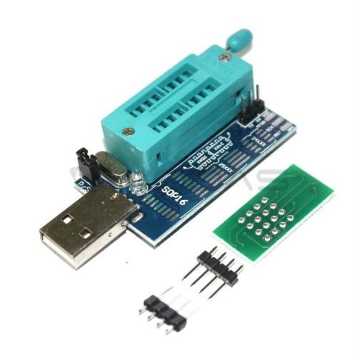 MX25L6405 W25Q64 USB Programatorius