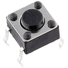 Mygtukinis jungiklis 6x6x6mm OFF-(ON)