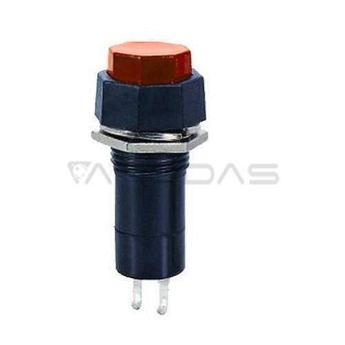 Mygtukinis jungiklis ON-OFF 1A 250VAC raudonas