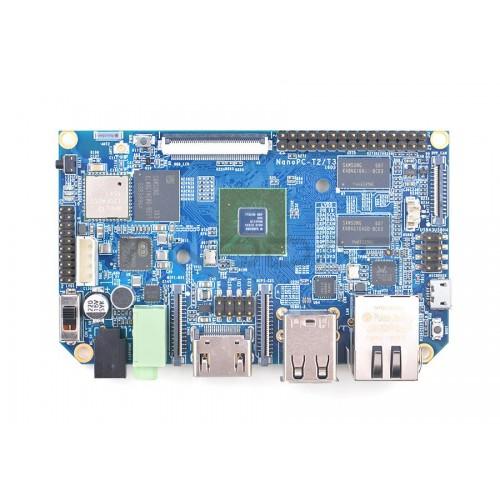 NanoPC T3 - Samsung S5P6818 Octa-Core 1,4GHz + 1GB RAM + 8GB EMMC- WiFi + Bluetooth 4.0