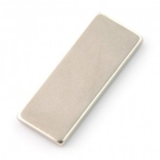 Neodymium rectangular magnet 25x10x2mm - 10 pcs