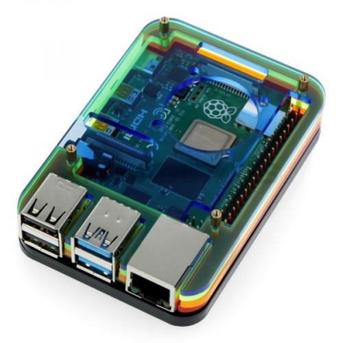 Raspberry Pi 4B case multicolor LT-4B05