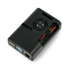 Raspberry Pi case justPi - black