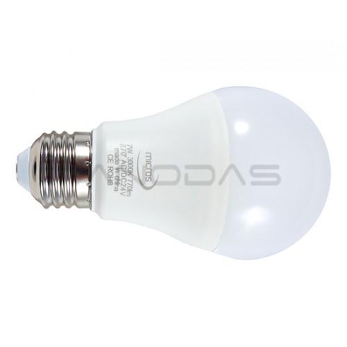 LED lempa E27 7W 770lm 24V