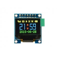 "OLED display 0.95"" 96x64px 7pin - full color"