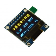 "OLED display 0.96"" 128x64px 4pin - blue yellow"