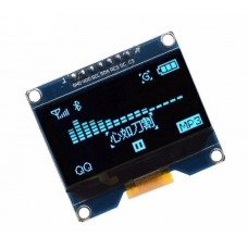 "OLED display 1.54"" 128x64px 7pin - blue"