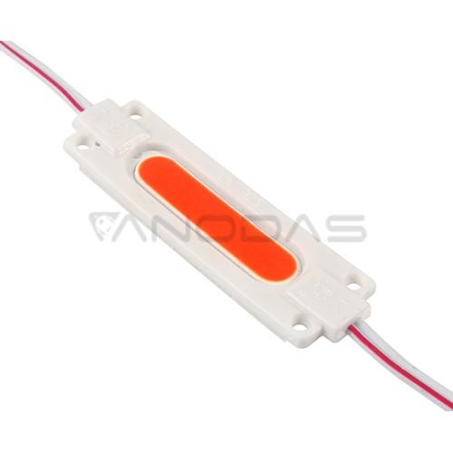 LED modulis 2W raudona šviesa 180lm 160° 12VDC