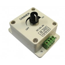 Smart dimmer for LED strips 12V 8A