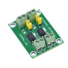 Galvanic isolation module of the PC817 optoisolator 2-channel - optocoupler