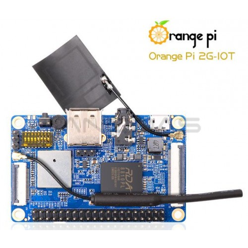 Orange Pi 2G-IOT ARM Cortex A5 32bit 256 MB RAM + GSM/GPRS Mikrokompiuteris