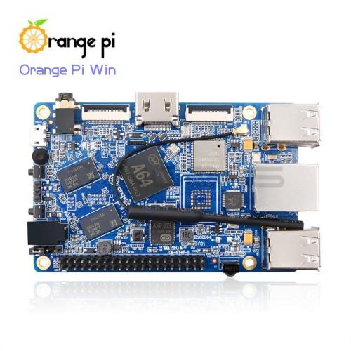 Orange Pi Win - Alwinner A64 Quad-Core 1GB RAM Mikrokompiuteris